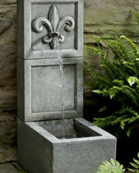 Cast Stone Wall Fountains