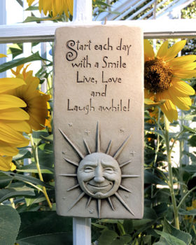 1078-A-Smile-A-Day-Plaque-Aged-Stone