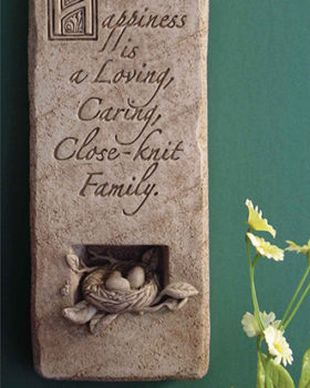 1092-A-Blissful-Home-Plaque-Natural-Stone