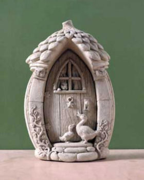 1247-A-Mother-Gooses-Fairy-Door-Natural-Stone-Statue