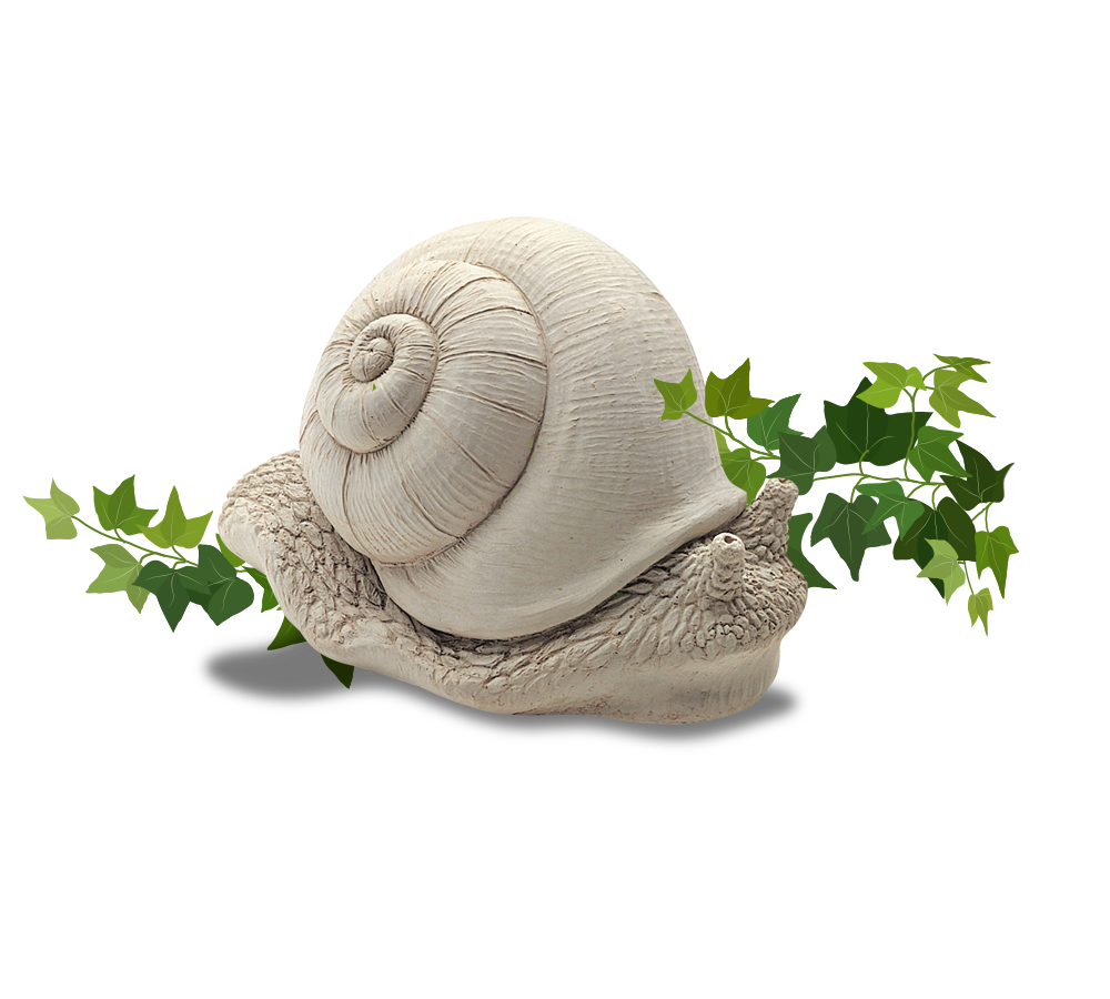 Find this Snail Statue by Carruth Studios at Secret Garden Shop.