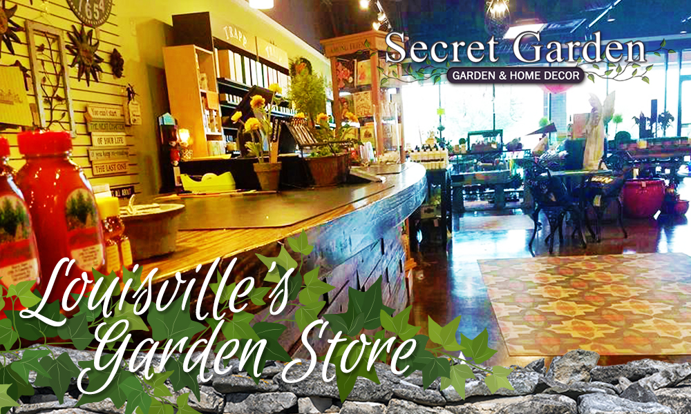 Secret Garden Shop, Louisville's Garden Store